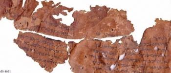 Manuscritos de más de 2,000 años con inscripciones bíblicas fueron hallados en Israel. | Fuente: @Frank_Turek